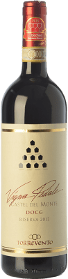 15,95 € Envoi gratuit | Vin rouge Torrevento Vigna Pedale Reserva D.O.C.G. Castel del Monte Rosso Riserva Pouilles Italie Nero di Troia Bouteille 75 cl