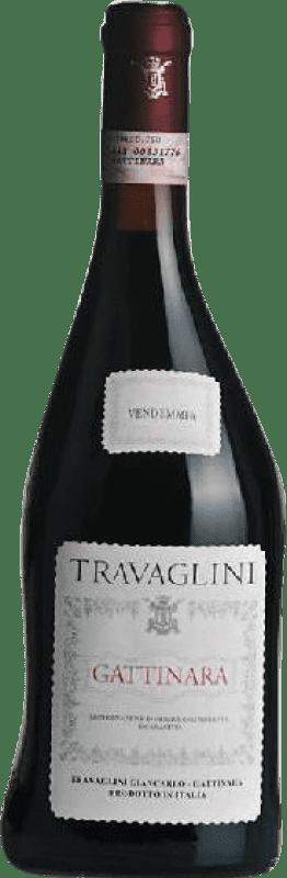 22,95 € Free Shipping | Red wine Travaglini D.O.C.G. Gattinara Piemonte Italy Nebbiolo Bottle 75 cl