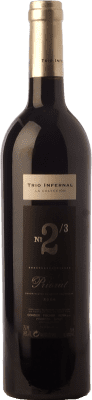 68,95 € Free Shipping | Red wine Trio Infernal 2/3 Crianza 2007 D.O.Ca. Priorat Catalonia Spain Carignan Bottle 75 cl