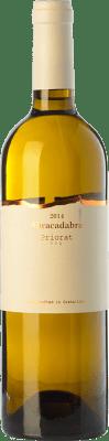 35,95 € Envío gratis | Vino blanco Trossos del Priorat Abracadabra Crianza D.O.Ca. Priorat Cataluña España Garnacha Blanca, Macabeo Botella 75 cl