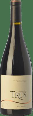 29,95 € Envío gratis | Vino tinto Trus Reserva D.O. Ribera del Duero Castilla y León España Tempranillo Botella 75 cl