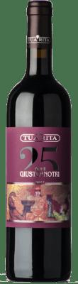 67,95 € Kostenloser Versand   Rotwein Tua Rita Giusto di Notri I.G.T. Toscana Toskana Italien Merlot, Cabernet Sauvignon, Cabernet Franc Flasche 75 cl