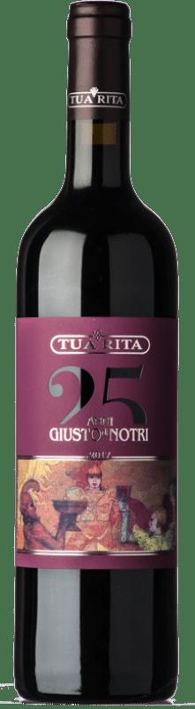 67,95 € Free Shipping | Red wine Tua Rita Giusto di Notri I.G.T. Toscana Tuscany Italy Merlot, Cabernet Sauvignon, Cabernet Franc Bottle 75 cl