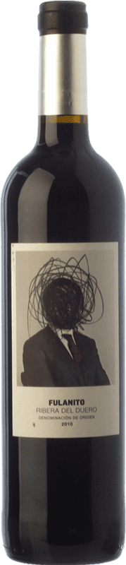 19,95 € Envío gratis   Vino tinto Uvas de Cuvée Fulanito Joven D.O. Ribera del Duero Castilla y León España Tempranillo, Merlot, Cabernet Sauvignon Botella Mágnum 1,5 L