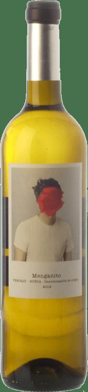 7,95 € Free Shipping | White wine Uvas de Cuvée Menganito D.O. Rueda Castilla y León Spain Verdejo Bottle 75 cl
