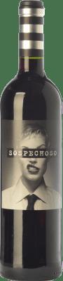 99,95 € Envoi gratuit | Vin rouge Uvas Felices Sospechoso I.G.P. Vino de la Tierra de Castilla Castilla La Mancha Espagne Tempranillo, Tinta de Toro Bouteille Spéciale 5 L