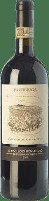 43,95 € Free Shipping | Red wine Val di Suga Poggio al Granchio D.O.C.G. Brunello di Montalcino Tuscany Italy Sangiovese Bottle 75 cl