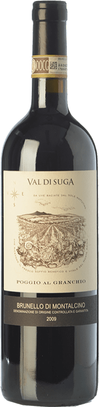 53,95 € Free Shipping   Red wine Val di Suga Poggio al Granchio 2009 D.O.C.G. Brunello di Montalcino Tuscany Italy Sangiovese Bottle 75 cl