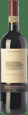 56,95 € Free Shipping | Red wine Val di Suga Vigna del Lago 2009 D.O.C.G. Brunello di Montalcino Tuscany Italy Sangiovese Bottle 75 cl