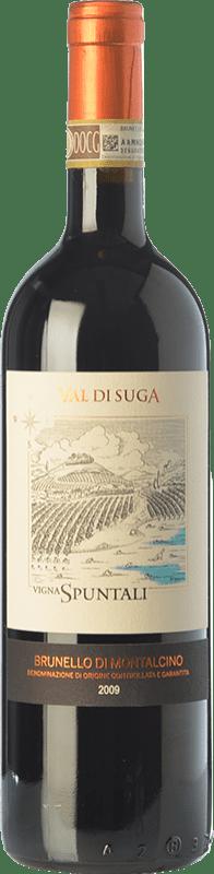 76,95 € Free Shipping | Red wine Val di Suga Vigna Spuntali 2009 D.O.C.G. Brunello di Montalcino Tuscany Italy Sangiovese Bottle 75 cl