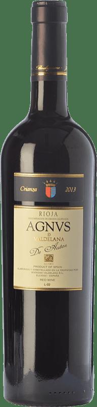15,95 € Envoi gratuit   Vin rouge Valdelana Agnus de Autor Crianza D.O.Ca. Rioja La Rioja Espagne Tempranillo, Graciano Bouteille 75 cl