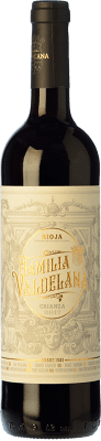 9,95 € Free Shipping | Red wine Valdelana Crianza D.O.Ca. Rioja The Rioja Spain Tempranillo, Mazuelo Bottle 75 cl