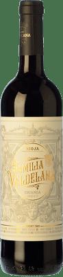 8,95 € Free Shipping | Red wine Valdelana Crianza D.O.Ca. Rioja The Rioja Spain Tempranillo, Mazuelo Bottle 75 cl