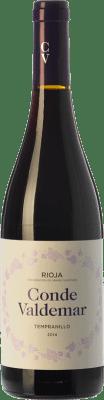 6,95 € Free Shipping | Red wine Valdemar Conde Joven D.O.Ca. Rioja The Rioja Spain Tempranillo Bottle 75 cl