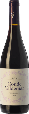 8,95 € Envoi gratuit | Vin rouge Valdemar Conde Joven D.O.Ca. Rioja La Rioja Espagne Tempranillo Bouteille 75 cl