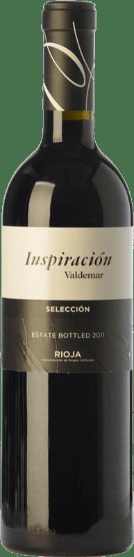 13,95 € Envío gratis | Vino tinto Valdemar Inspiración Crianza D.O.Ca. Rioja La Rioja España Tempranillo, Graciano, Maturana Tinta Botella 75 cl