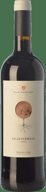 7,95 € Free Shipping | Red wine Valderiz Valdehermoso 9 Meses Joven D.O. Ribera del Duero Castilla y León Spain Tempranillo Bottle 75 cl