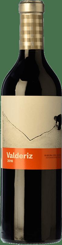 19,95 € Free Shipping | Red wine Valderiz Crianza D.O. Ribera del Duero Castilla y León Spain Tempranillo Bottle 75 cl