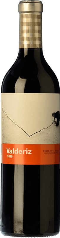 19,95 € Envío gratis | Vino tinto Valderiz Crianza D.O. Ribera del Duero Castilla y León España Tempranillo Botella 75 cl