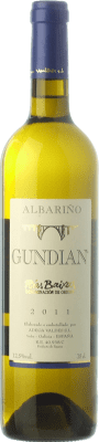 8,95 € Envoi gratuit | Vin blanc Valdés Gundián D.O. Rías Baixas Galice Espagne Albariño Bouteille 75 cl