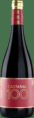 31,95 € Free Shipping | Red wine Valmiñor Davila C100 Crianza D.O. Rías Baixas Galicia Spain Castañal Bottle 75 cl