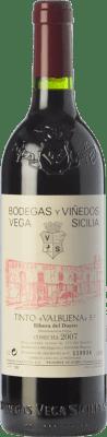 125,95 € Envoi gratuit | Vin rouge Vega Sicilia Valbuena 5º año Reserva 2007 D.O. Ribera del Duero Castille et Leon Espagne Tempranillo, Merlot Bouteille 75 cl