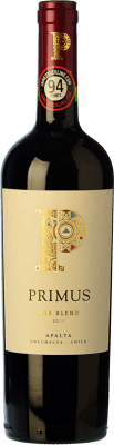 16,95 € Free Shipping | Red wine Veramonte Primus The Blend Crianza I.G. Valle de Colchagua Colchagua Valley Chile Merlot, Cabernet Sauvignon, Cabernet Franc, Petit Verdot, Carmenère Bottle 75 cl