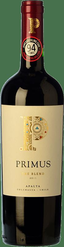 13,95 € Free Shipping | Red wine Veramonte Primus The Blend Crianza I.G. Valle de Colchagua Colchagua Valley Chile Merlot, Cabernet Sauvignon, Cabernet Franc, Petit Verdot, Carmenère Bottle 75 cl