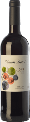 7,95 € Free Shipping | Red wine Vermunver Vinum Domi Joven D.O. Montsant Catalonia Spain Merlot, Grenache, Carignan Bottle 75 cl