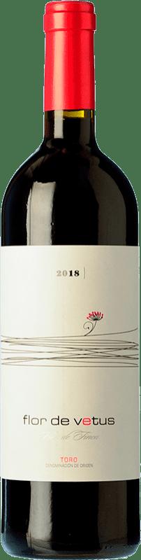 9,95 € Spedizione Gratuita | Vino rosso Vetus Flor Joven D.O. Toro Castilla y León Spagna Tinta de Toro Bottiglia 75 cl