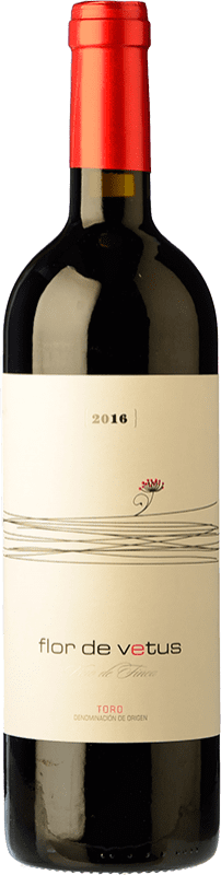 19,95 € Kostenloser Versand | Rotwein Vetus Flor Joven D.O. Toro Kastilien und León Spanien Tinta de Toro Magnum-Flasche 1,5 L