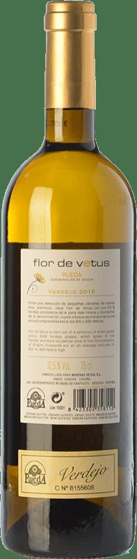 6,95 € Envío gratis   Vino blanco Vetus Flor de Vetus D.O. Rueda Castilla y León España Verdejo Botella 75 cl