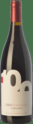 21,95 € Envío gratis | Vino tinto Vidas 100 Montañas Crianza D.O.P. Vino de Calidad de Cangas Principado de Asturias España Albarín Negro Botella 75 cl