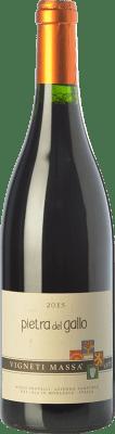12,95 € Free Shipping | Red wine Vigneti Massa Pietra del Gallo D.O.C. Colli Tortonesi Piemonte Italy Bacca Red Bottle 75 cl