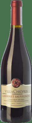 11,95 € Free Shipping | Red wine Villa Chiòpris D.O.C. Friuli Grave Friuli-Venezia Giulia Italy Cabernet Sauvignon Bottle 75 cl