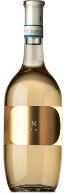 9,95 € Free Shipping | White wine Villa Sparina Montej Bianco D.O.C. Monferrato Piemonte Italy Chardonnay, Sauvignon Bottle 75 cl