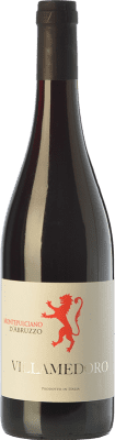 7,95 € Free Shipping | Red wine Villamedoro D.O.C. Montepulciano d'Abruzzo Abruzzo Italy Montepulciano Bottle 75 cl