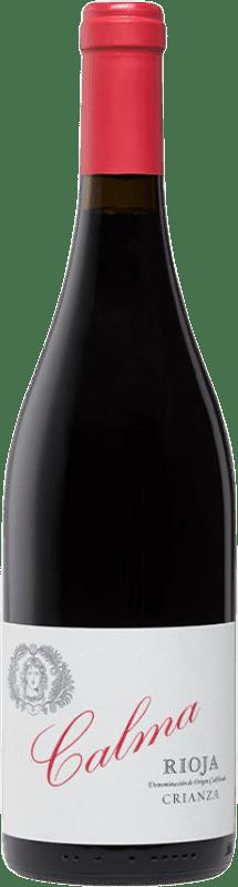 14,95 € Free Shipping | Red wine Vinos del Atlántico Calma Crianza D.O.Ca. Rioja The Rioja Spain Tempranillo Bottle 75 cl