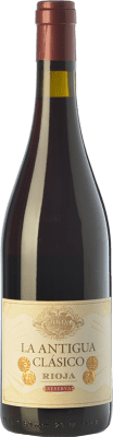 26,95 € Free Shipping | Red wine Vinos del Atlántico La Antigua Reserva D.O.Ca. Rioja The Rioja Spain Tempranillo, Grenache, Graciano Bottle 75 cl