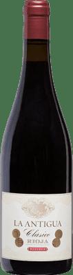 21,95 € Envoi gratuit | Vin rouge Vinos del Atlántico La Antigua Reserva D.O.Ca. Rioja La Rioja Espagne Tempranillo, Grenache, Graciano Bouteille 75 cl