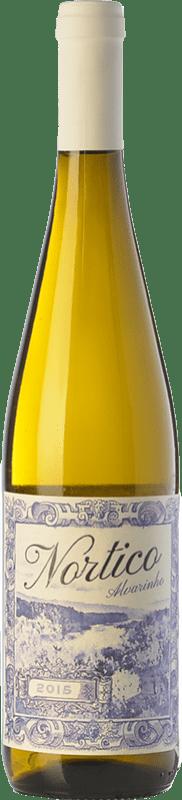 9,95 € Free Shipping | White wine Vinos del Atlántico Nortico I.G. Minho Minho Portugal Albariño Bottle 75 cl