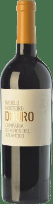 14,95 € Free Shipping | Red wine Vinos del Atlántico Rabelo Mosteiro Crianza I.G. Douro Douro Portugal Touriga Franca, Touriga Nacional, Tinta Roriz, Tinta Cão Bottle 75 cl