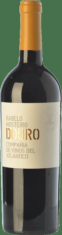 14,95 € Envoi gratuit | Vin rouge Vinos del Atlántico Rabelo Mosteiro Crianza I.G. Douro Douro Portugal Touriga Franca, Touriga Nacional, Tinta Roriz, Tinta Cão Bouteille 75 cl