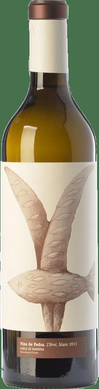 13,95 € Free Shipping | White wine Vins de Pedra L'Orni D.O. Conca de Barberà Catalonia Spain Chardonnay Bottle 75 cl
