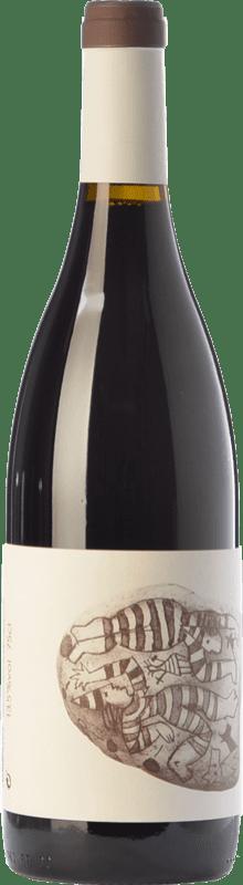 7,95 € Free Shipping | Red wine Vins de Pedra Negre de Folls Joven D.O. Conca de Barberà Catalonia Spain Tempranillo, Grenache, Trepat Bottle 75 cl