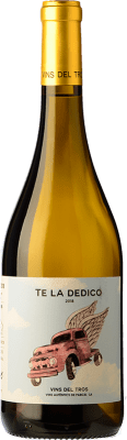 9,95 € Free Shipping | White wine Vins del Tros Te la Dedico D.O. Terra Alta Catalonia Spain Grenache White, Chenin White Bottle 75 cl
