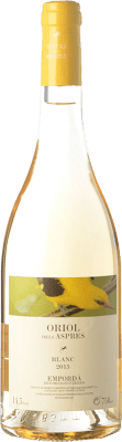 5,95 € Free Shipping | White wine Aspres Oriol Blanc D.O. Empordà Catalonia Spain Grenache Grey Bottle 75 cl
