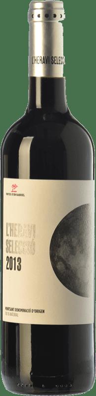 8,95 € Envoi gratuit | Vin rouge Vinyes d'en Gabriel L'Heravi Selecció Joven D.O. Montsant Catalogne Espagne Syrah, Carignan Bouteille 75 cl