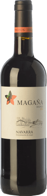 8,95 € Free Shipping | Red wine Viña Magaña Dignus Joven D.O. Navarra Navarre Spain Tempranillo, Merlot, Cabernet Sauvignon Bottle 75 cl. | Thousands of wine lovers trust us to get the best price guarantee, free shipping always and hassle-free shopping and returns.