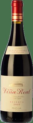 16,95 € Envoi gratuit | Vin rouge Viña Real Reserva D.O.Ca. Rioja La Rioja Espagne Tempranillo, Grenache, Graciano, Mazuelo Bouteille 75 cl